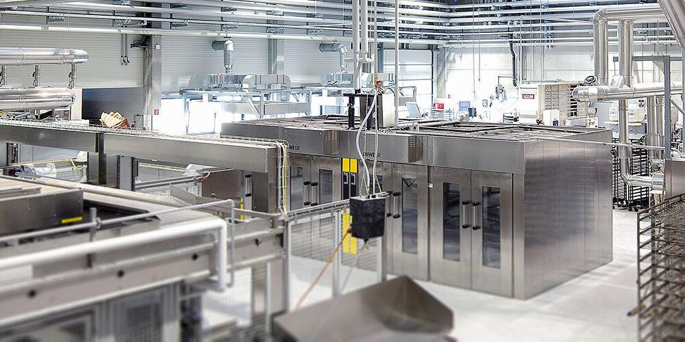 MIWE Technik für die zentrale Produktion