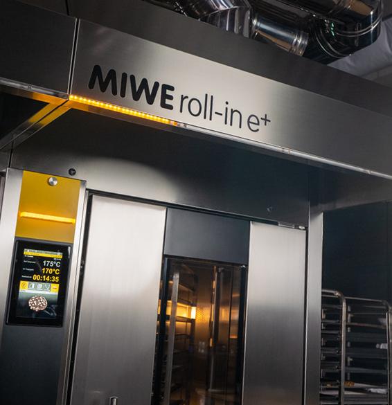 MIWE roll-inMIWE roll-in in Betrieb